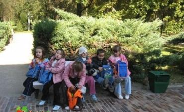 2007_11_Wycieczka do Kozłowki dzieci klas 0-3 szkoły podstawowej