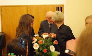 2012_03_Spotkanie z profesorem Władysławem Bartoszewskim