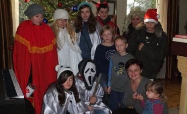 2012_12_Kolędnicy misyjni w Kalinówce