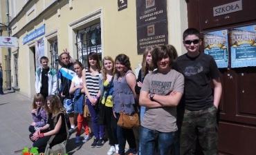 2013_05_Przyjacielska wizyta w Liceum Śródziemnomorskim